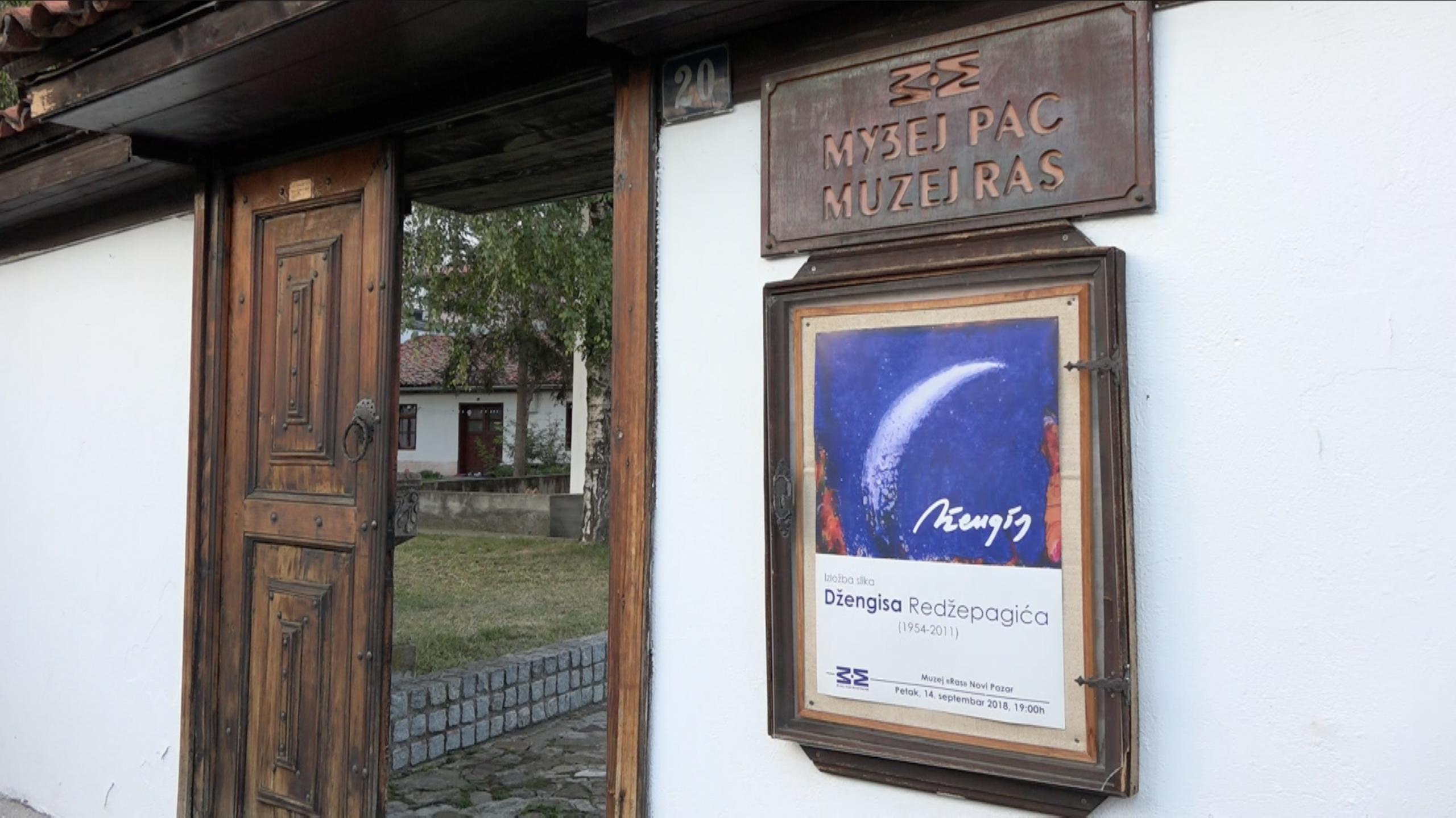Prezenatcija izložbe slika Džengisa Redžepagića (1954-2011)