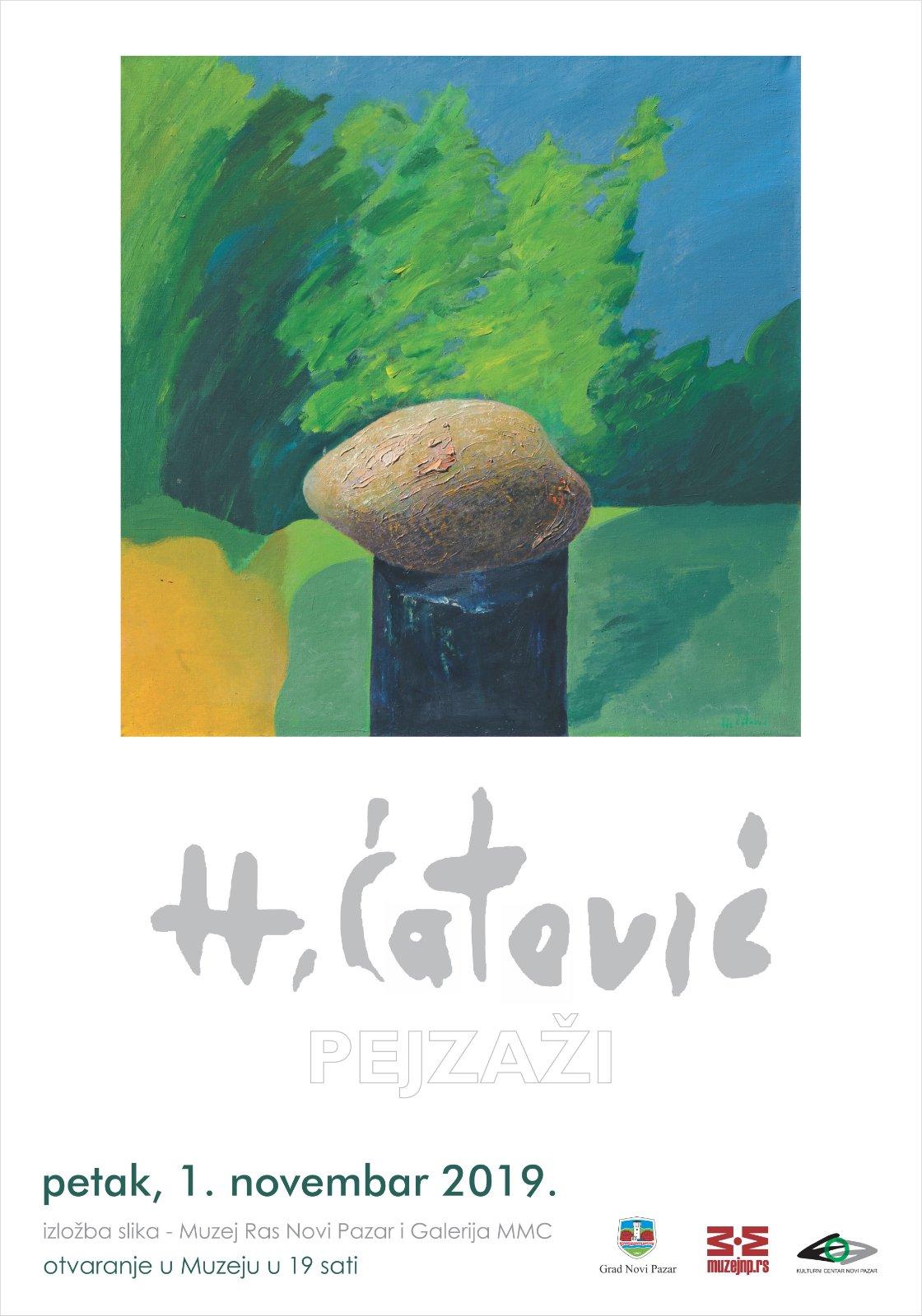 Prezentacija izložbe slika Himije Ćatovića (1933-2017)