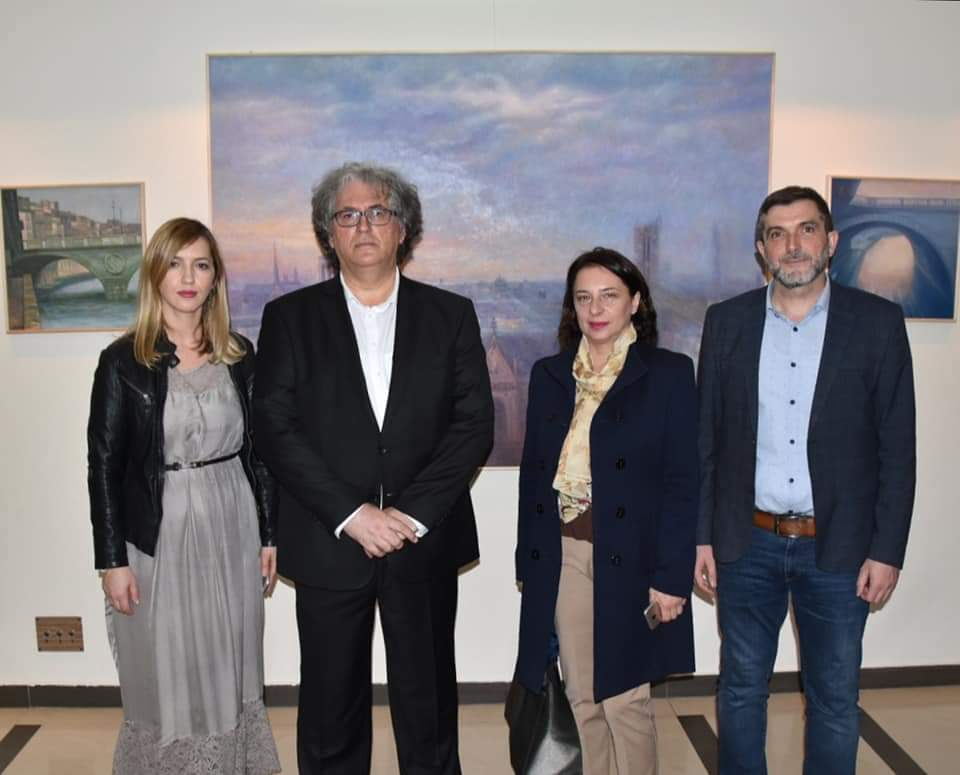 Prezentacija izložbe slika Mehmeda Slezovića