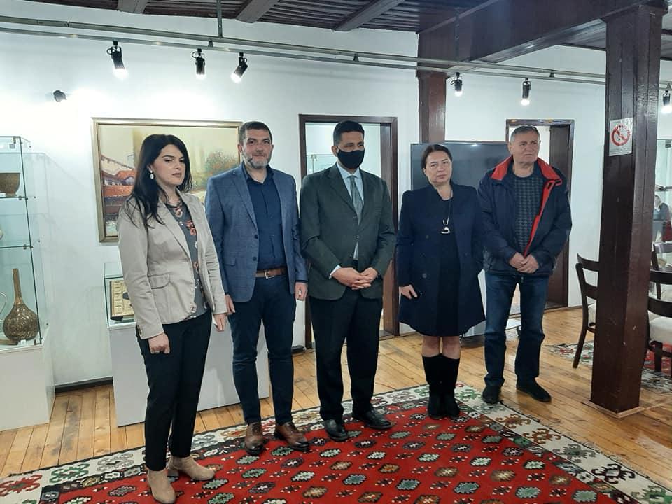Ambasador Egipta posetio Muzej